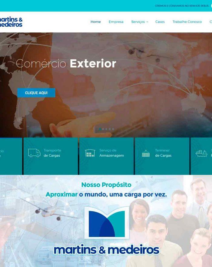 Martins Medeiros é um Operador logístico que oferece serviços de logística integrada: frete internacional, desembaraço aduaneiro, operação portuária, transporte rodoviário de cargas e armazenagem.
